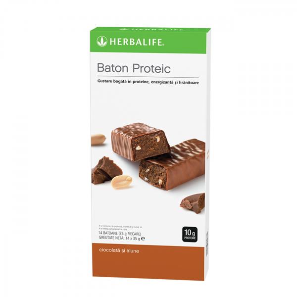 Batoane proteice Ciocolată și alune 14 batoane per cutie [0]
