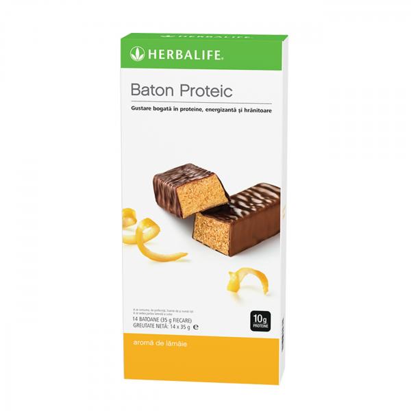 Batoane proteice Lămâie 14 batoane per cutie [0]
