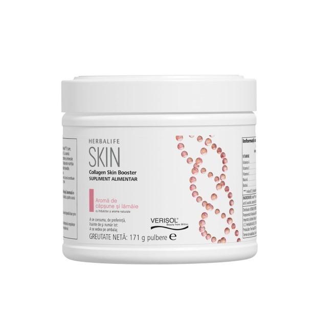 Collagen Skin Booster - Supliment alimentar Căpșune și lămâie 171gr [0]