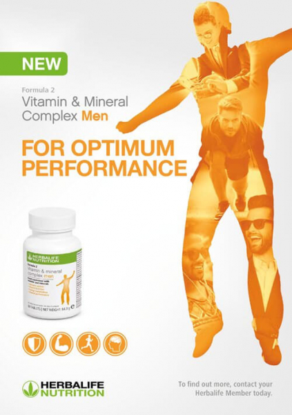 Formula 2 Complex de Vitamine și Minerale pentru Bărbați 60 de tablete [1]