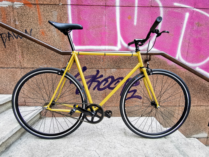 Bicicleta single speed Cobi Bicycle, 56 cm 0