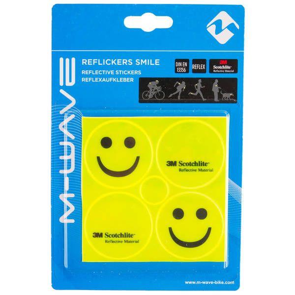 """Stikere Reflectorizante M-WAVE """"REFLICKERS SMILE"""" 0"""