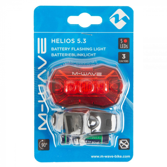Stop Spate cu Baterii M-Wave Helios 5.3 1