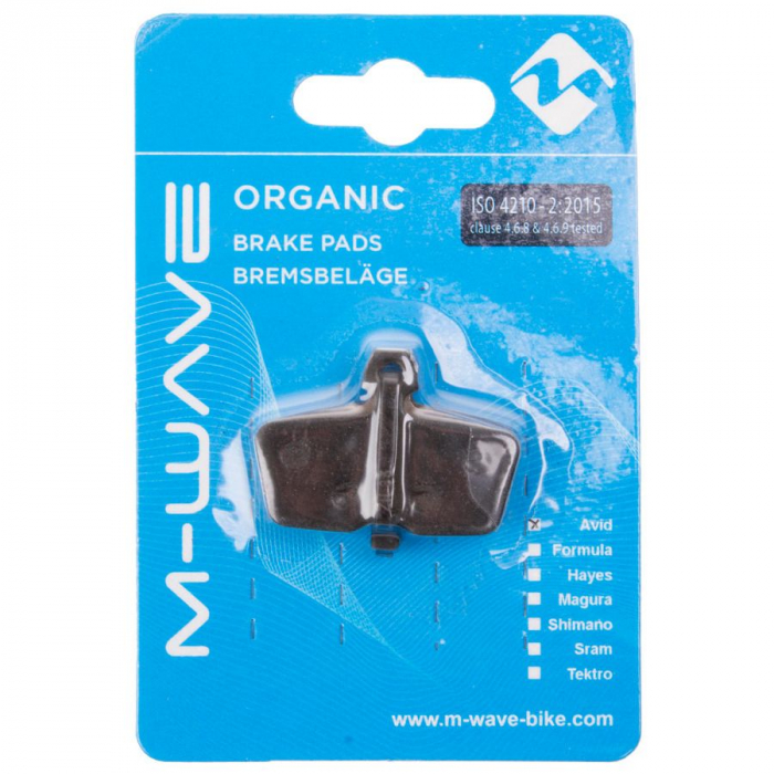 Placute de frana organice M-Wave AS2 (Sram / Avid Code) 1
