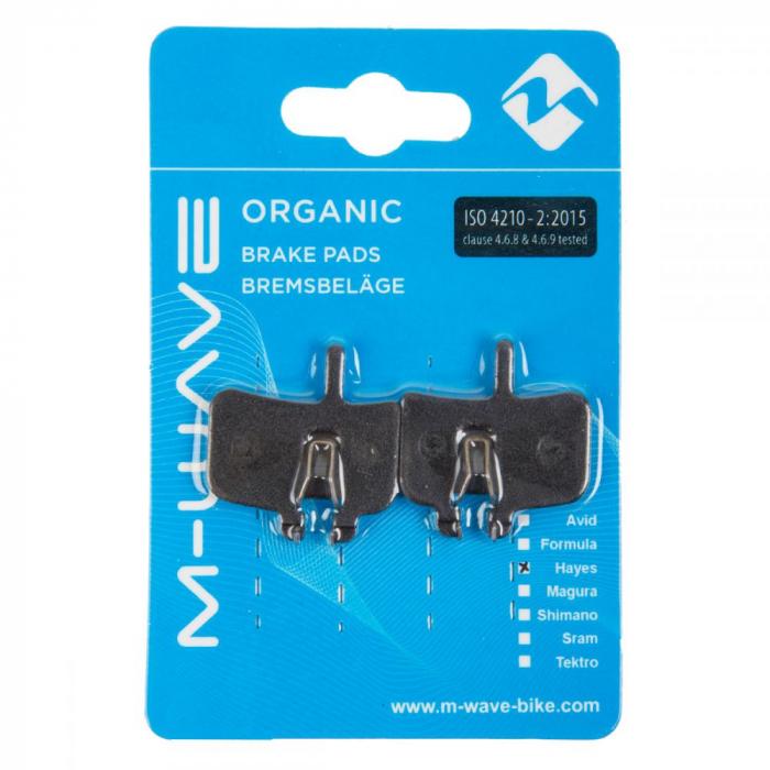 Placute de frana organice M-Wave H2 (Hayes HFX-9, MAG, MX-1) 1