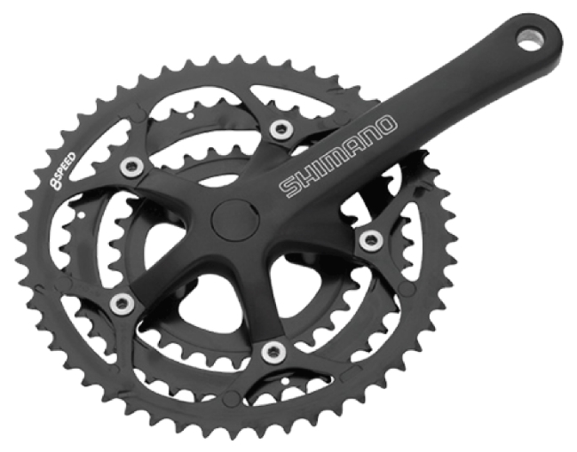 Angrenaj pedalier Shimano 2200 FC-2203 0