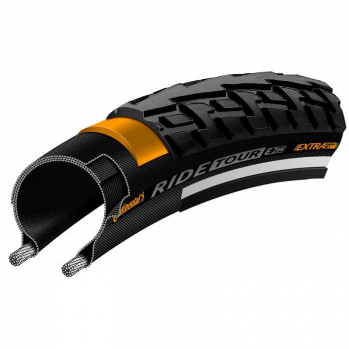 Anvelopa Continental Ride Tour Puncture-ProTection 47-559 2