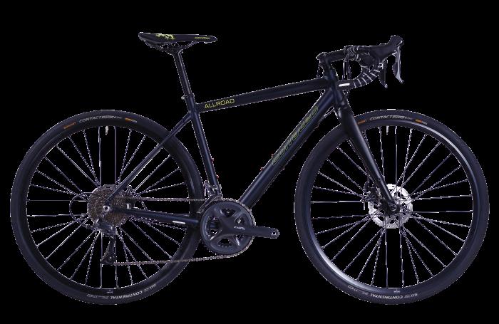 Bicicleta CORRATEC Allroad A2 albastru / galben neon / negru [0]