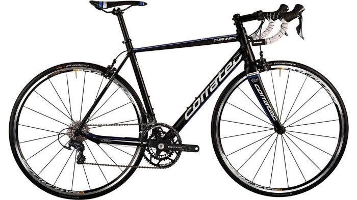 Bicicleta CORRATEC Corones Elite negru / albastru / alb 0