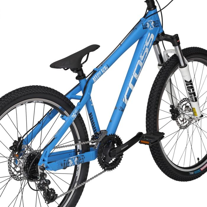Bicicleta CROSS Dexter HDB albastru - 26'' - 380mm 1