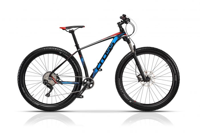 """Bicicleta CROSS Xtend 27.5"""" Negru/Albastru/Rosu 520mm 0"""