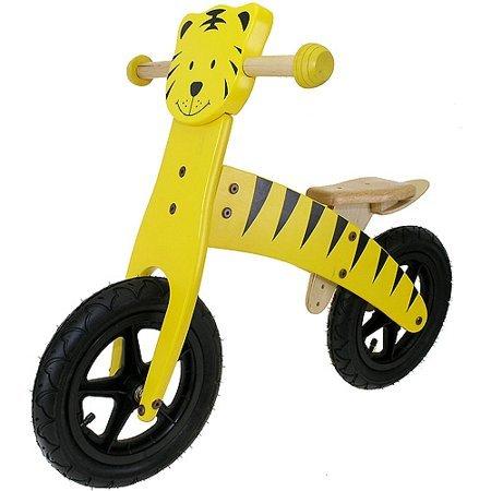 Bicicleta din lemn fara pedale Tigru 0