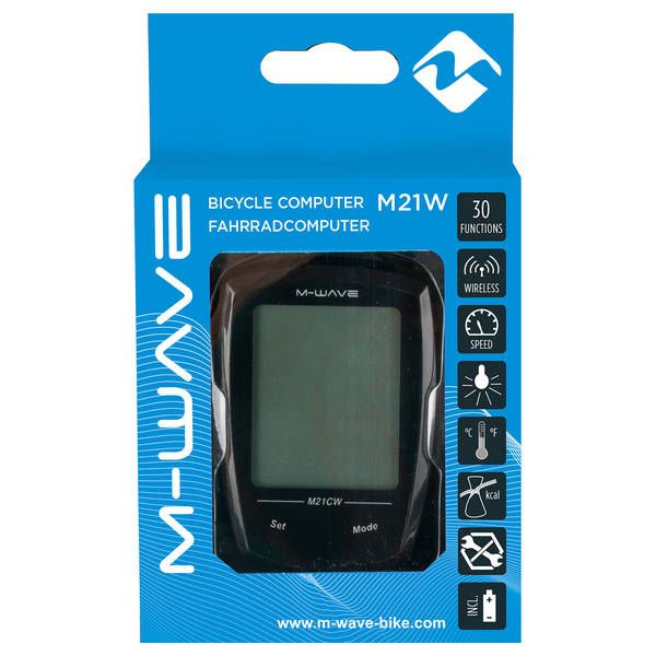 Bike Computer Wireless/Touchscreen M-WAVE 21 Functii 3