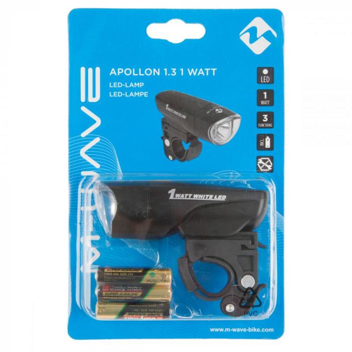 """Far cu Baterii M-WAVE """"APOLLON 1.3 1 WATT"""" 1"""