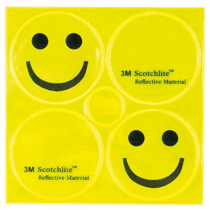 """Stikere Reflectorizante M-WAVE """"REFLICKERS SMILE"""" 1"""