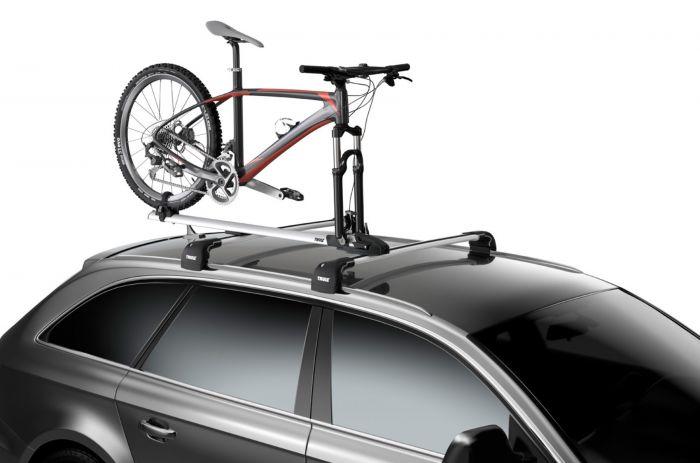 Suport biciclete ThruRide - Argintiu 3