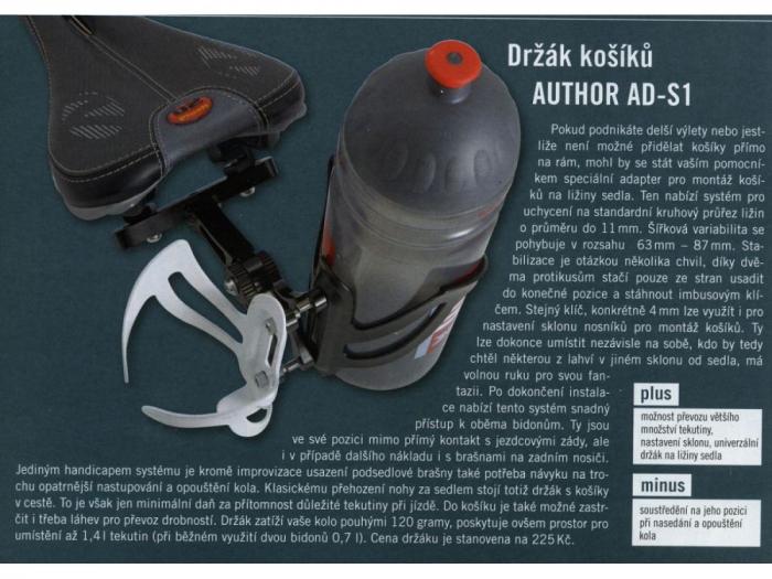 Adaptor Suport Bidon AUTHOR AO-S1 1
