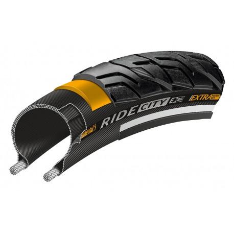 Anvelopa Continental Ride City Reflex 37-622 negru SL, Extra Punture Belt 0