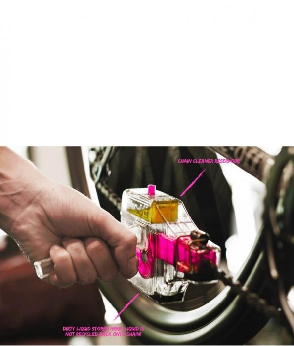 Dispozitiv curatare lant bicicleta Muc-Off 0