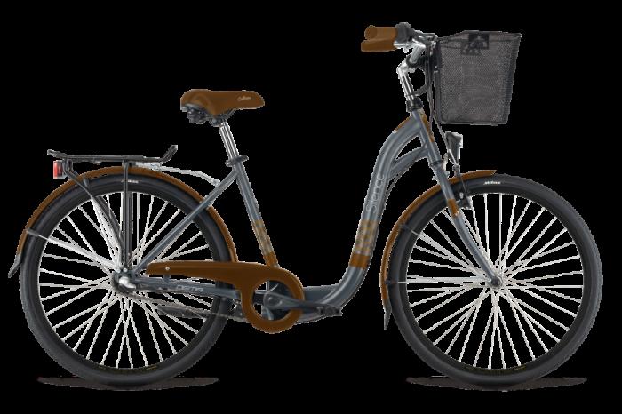 "Bicicleta 26"" DEMA Silence 3 viteze Beige-BROW 0"