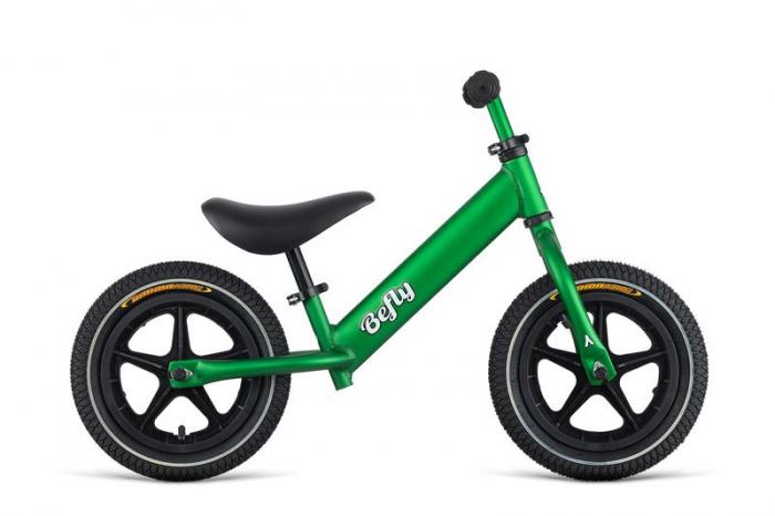 "Bicicleta Copii fara Pedale 12"" DEMA BeFly LITTLE HERO verde 0"
