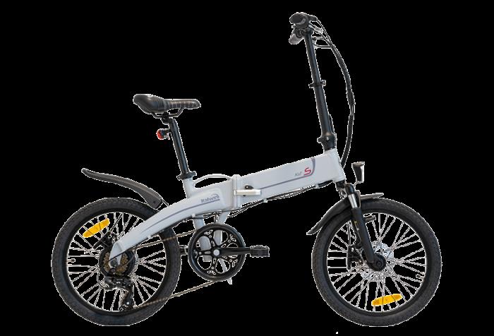 """Bicicleta eBIKE Pliabila ITALWIN K2S 20x1.95"""" Autonomie 60 km gri [0]"""