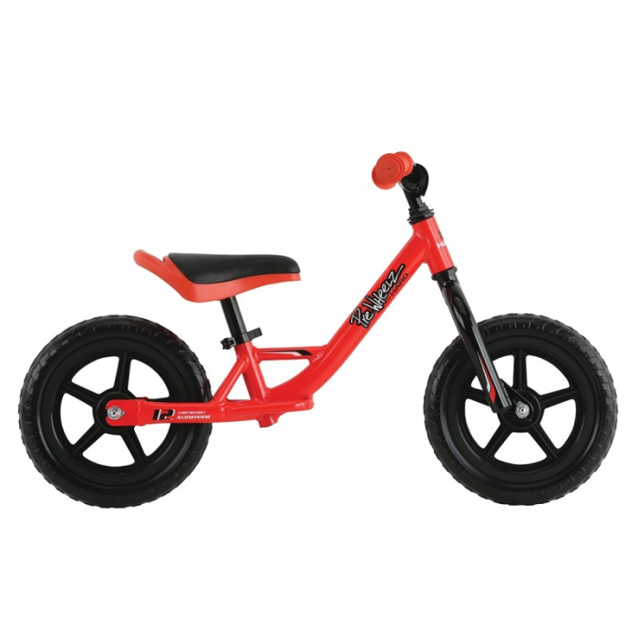 Bicicleta fara pedale Haro Prewheelz 12 rosu aprins 0