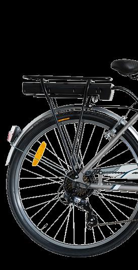 "Bicicleta ITALWIN NUVOLA4 eBIKE 24x1.75""  Autonomie 65 km 1"