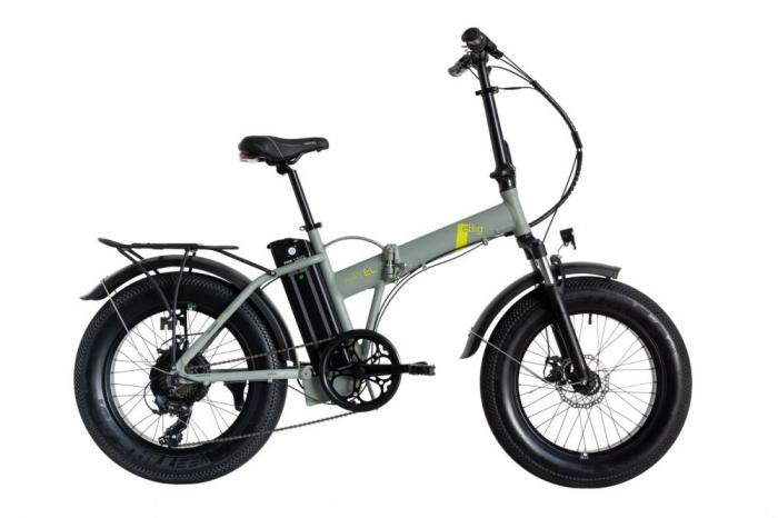 "Bicicleta Pliabila FAT e-Big WAYEL E-BIKE 20x4"" Sabbia Autonomie 75 km [0]"