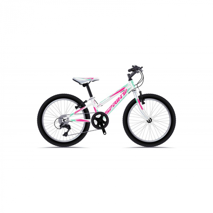 Bicicleta Sprint Calypso 20 Alb Lucios [0]