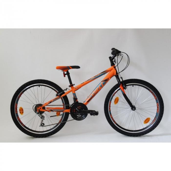 Bicicleta Sprint Casper 24 TBD Hardtail 2021, portocaliu mat [0]