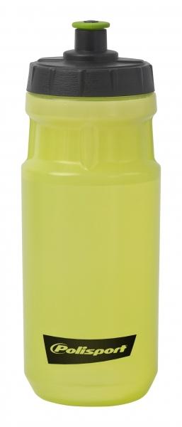 Bidon apa verde transparent Polisport 0