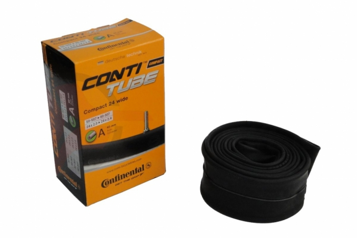 Camera bicicleta Continental Compact 24 Wide A34 50/57-507 0