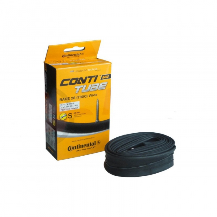 Camera bicicleta Continental Race 28 (700C) Wide S60 25-622/32-630 0