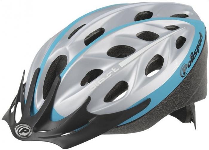 Casca bicicleta Polisport albastra