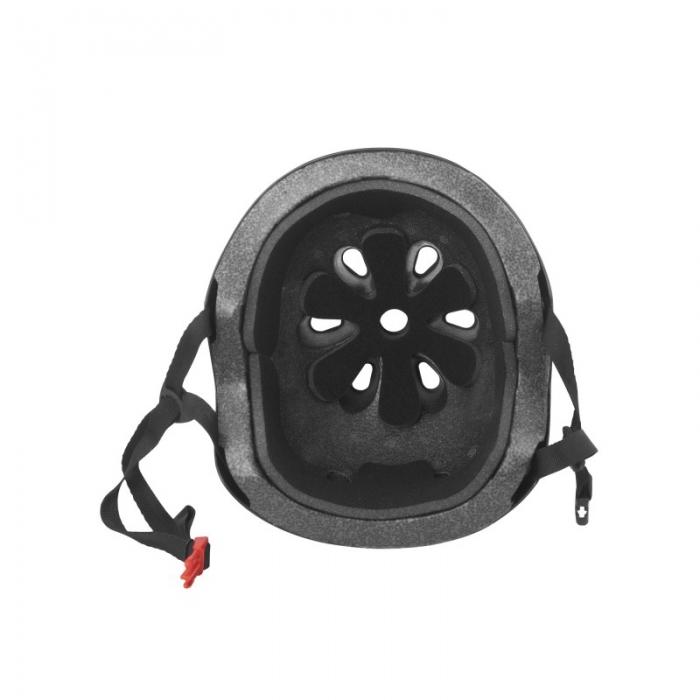 Casca Force BMX negru lucios 3