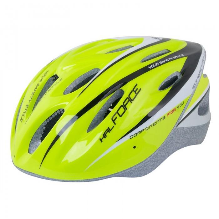 Casca bicicleta Force fluo 0
