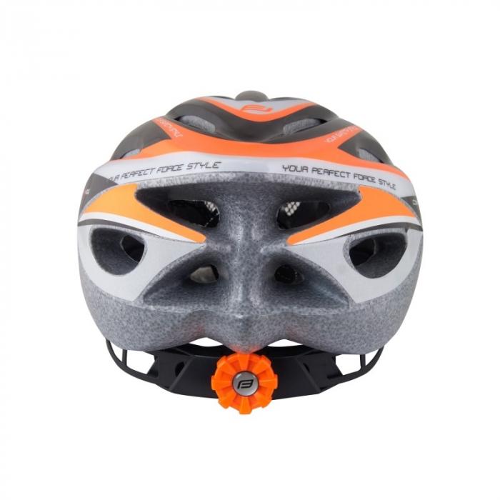 Casca Force Hal negru/portocaliu/alb 4