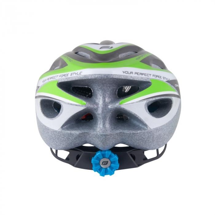Casca Force Hal negru/verde/alb 2