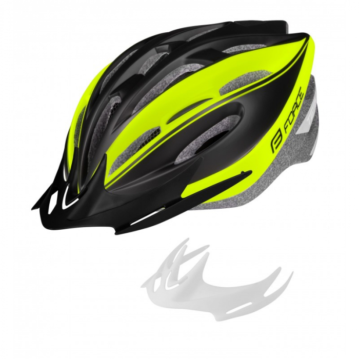Casca Force Terry Negru/Fluo 1
