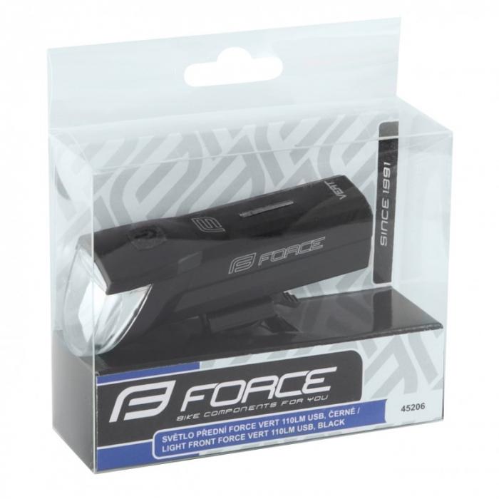 Far fata Force Vert, USB 2110 Lm, negru [1]