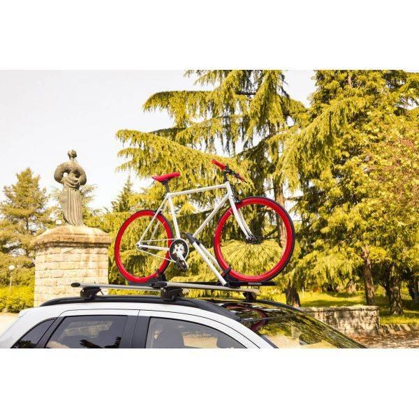 Suport bicicleta Menabo Juza cu prindere pe bare transversale 10