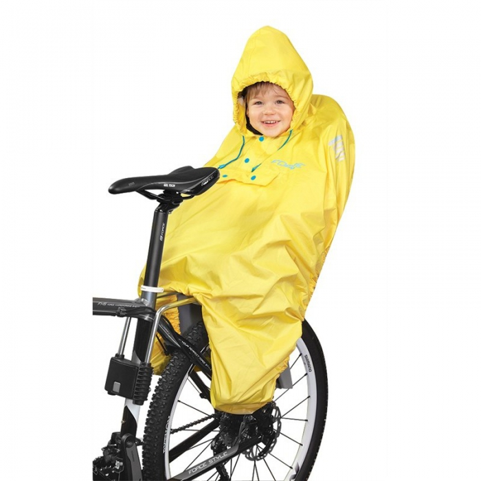 Pelerina ploaie Force pentru copii in scaun bicicleta 0