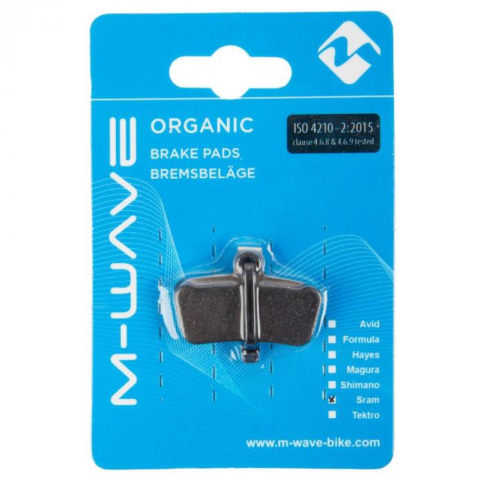 Placute de frana organice M-Wave S3 (Sram X0 Trail / Guide) 1