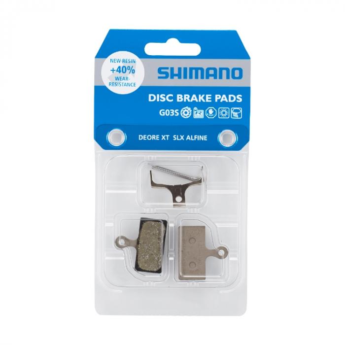 Placute de frana Shimano G03S, resin & arc [0]