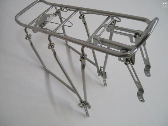 Portbagaj bicicleta reglabil 0