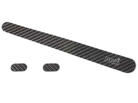 Protectie adeziva chainstay si headtube cadru PRO PR500095, carbon 0