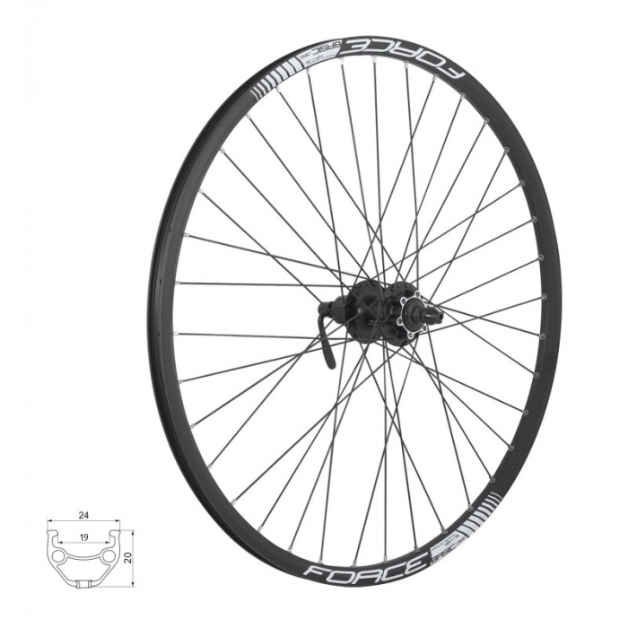 Roata 26 Force Basic Disc 559x19 0