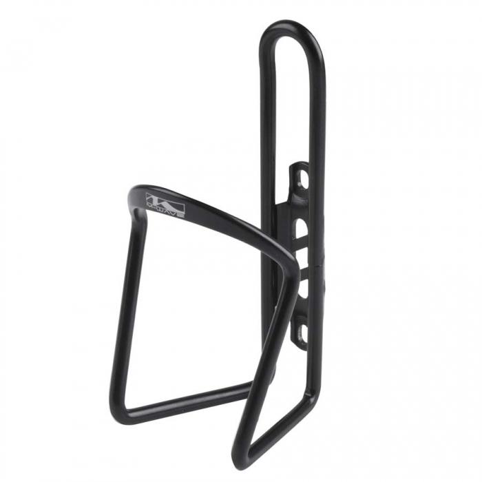 Suport de bidon negru aluminiu 0