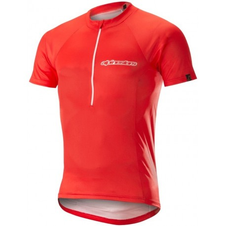 Tricou Alpinestars Elite S/S Jersey red/white 0